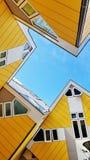 Sześcianów domy w Rotterdam Zdjęcia Stock
