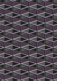 Sześcianu geometryczny wzór. Obraz Royalty Free