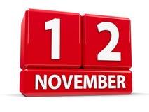 Sześciany 12th Listopad Zdjęcie Royalty Free