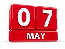 Sześciany 7th May Zdjęcia Stock