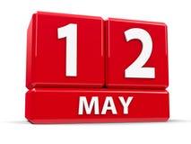 Sześciany 12th May Obrazy Royalty Free