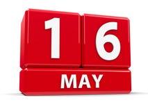 Sześciany 16th May Fotografia Stock