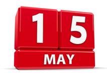 Sześciany 15th May Zdjęcia Royalty Free
