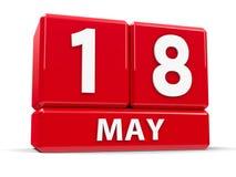 Sześciany 18th May Zdjęcia Royalty Free