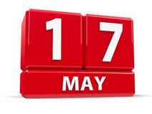 Sześciany 17th May Zdjęcie Royalty Free
