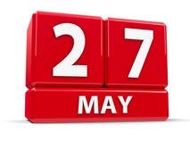 Sześciany 27th May Zdjęcia Stock