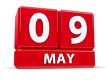 Sześciany 9th May Zdjęcie Royalty Free