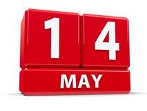 Sześciany 14th May Zdjęcia Royalty Free