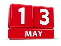 Sześciany 13th May Zdjęcia Stock