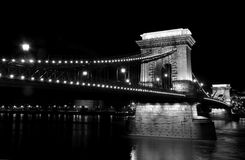 Szecheny bridge in Budapest Stock Images