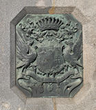 Szechenyi铁锁式桥梁细节 库存图片