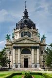 Szechenyi bad, Budapest Arkivfoton