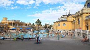 Szechenyi Bath Stock Image