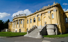 Szechenyi bath in Budapest Royalty Free Stock Photos