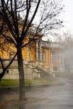 Szechenyi Bath. Exterior of Szechenyi Bath  in Budapest, Hungary Royalty Free Stock Image