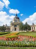 Szechenyi Bath - The largest medical spa in Europe Stock Photo