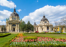 Szechenyi Bath - The largest medical spa in Europe Stock Photography