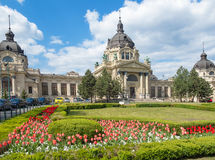 Szechenyi Bath - The largest medical spa in Europe Royalty Free Stock Photography