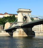 Szechenyi Chain Bridge Stock Photos