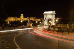 Szechenyi Chain Bridge, Budapest Royalty Free Stock Photo