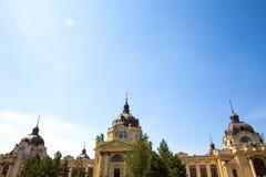 Szechenyi Furdo in Budapest Royalty Free Stock Image
