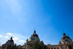 Szechenyi Furdo in Budapest Royalty Free Stock Photos
