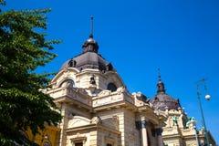 Szechenyi Furdo in Budapest Royalty Free Stock Photography