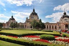 Szechenyi Leczniczy skąpanie w Budapest, Węgry Zdjęcia Royalty Free
