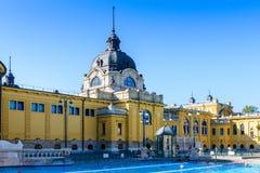 Szechenyi Medicinal Bath complex Royalty Free Stock Image