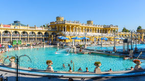Szechenyi Medicinal Bath complex Royalty Free Stock Photography
