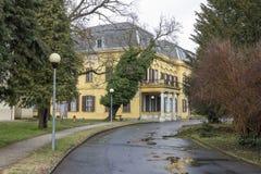 Szechenyi palace in Marcali. Hungary Royalty Free Stock Photos