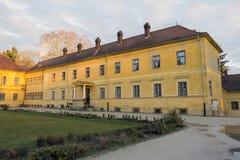 Szechenyi palace in Somogyvar. Hungary Stock Photo