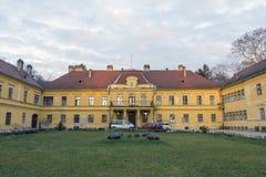 Szechenyi palace in Somogyvar. Hungary Royalty Free Stock Images