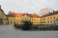 Szechenyi palace in Somogyvar. Hungary Royalty Free Stock Photography