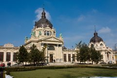 The Szechenyi spa Stock Photo