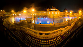Szechenyi spa bath, Budapest, Hungary Stock Photo