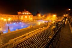 Szechenyi spa bath, Budapest, Hungary Royalty Free Stock Image