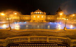 Szechenyi spa bath, Budapest, Hungary Stock Images