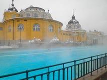 Szechenyi spa bath, Budapest Stock Photo