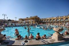 The Szechenyi Spa in Budapest Royalty Free Stock Image