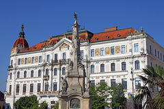 The Szechenyi square Pecs Royalty Free Stock Photography