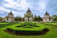 Szechenyi (Szechenyi) thermal Baths royalty free stock images