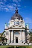Szechenyi thermal bath, Budapest, Hungary Stock Images