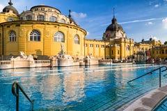 Szechenyi thermal bath in Budapest, Hungary Stock Image