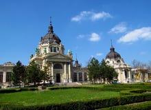 Szechenyi Thermal Bath, Budapest, Hungary royalty free stock photos