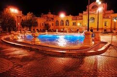 Szechenyi Thermal Baths Stock Photo