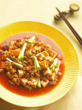 Szechuan dish ma-po tofu Royalty Free Stock Photography