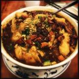 Szechuan-Fischsuppe Lizenzfreie Stockfotos