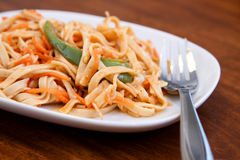 Szechuan Noodles Royalty Free Stock Image