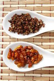 Szechuan pepper and chilli Royalty Free Stock Photo